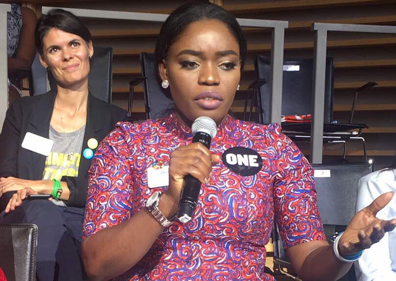 , Bisola Aiyeola addresses the United Nations General Assembly in New York, Effiezy - Top Nigerian News & Entertainment Website