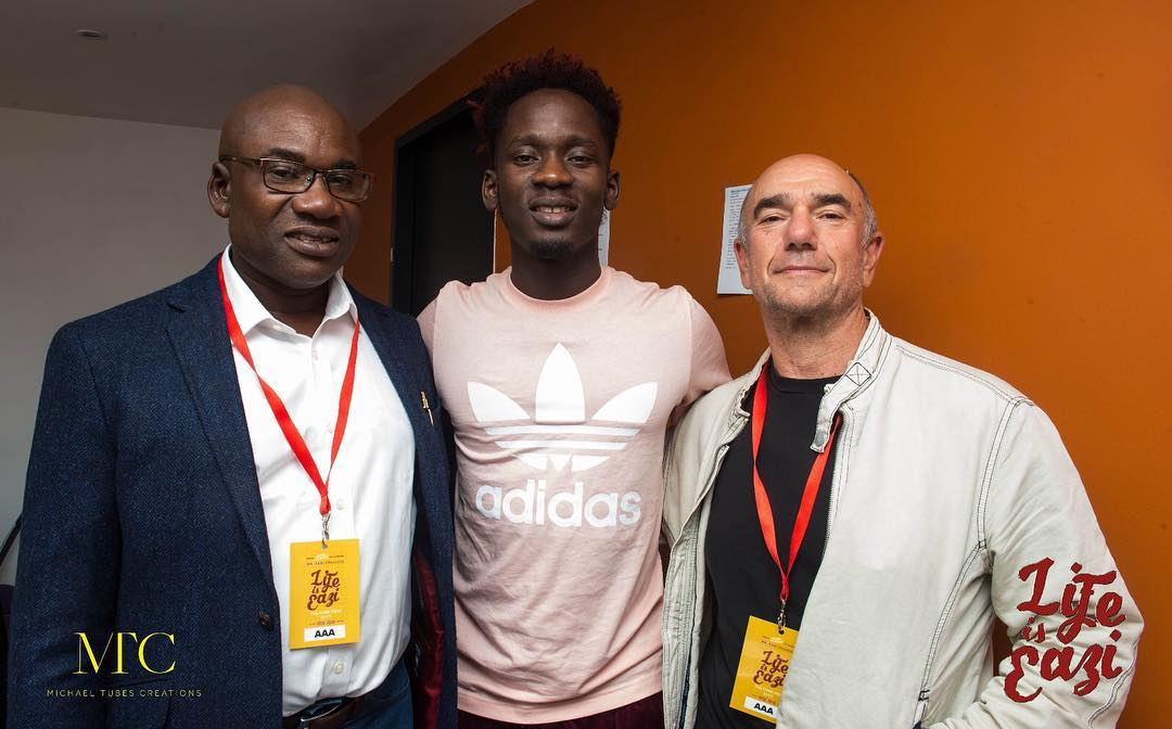 , Mr Eazi shows off his father for the first time (Photo/ Video), Effiezy - Top Nigerian News & Entertainment Website