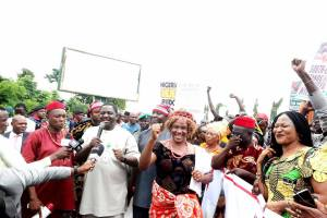 Igbo group holds rally in support of President Buhari in Abuja (photos)
