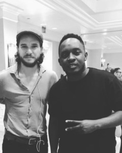 MI Abaga spotted with Jon Snow of Game Of Thrones (pictures)