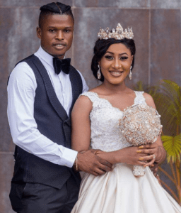 Mikel Agu shares his wife, Henrietta's hot photo on Instagram