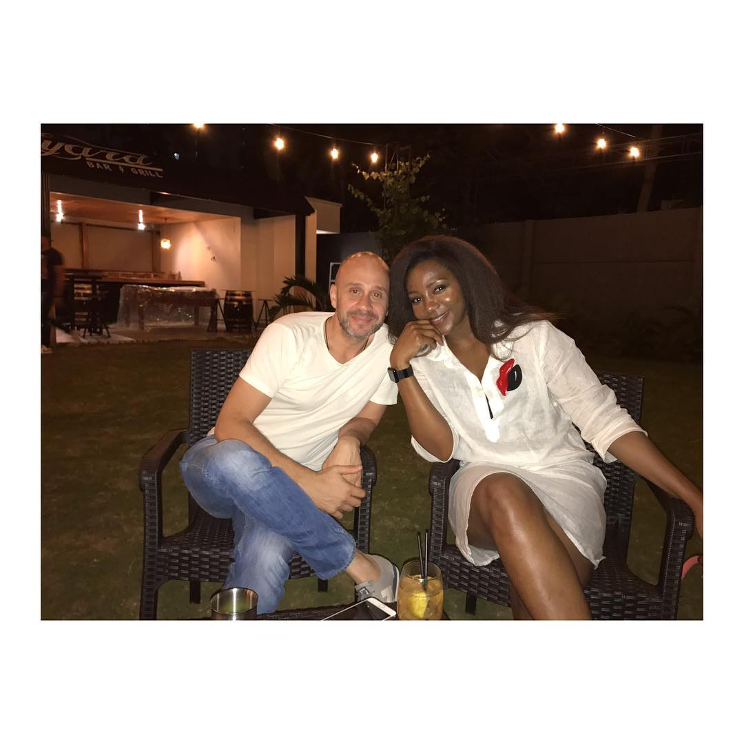 , Genevieve Nnaji And AJ Cham: The Real Story Behind The White Man & The Actress, Effiezy - Top Nigerian News & Entertainment Website