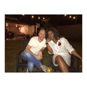 Genevieve Nnaji And AJ Cham: The Real Story Behind The White Man & The Actress