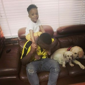 Olamide's son all grown up and handsome in new photo