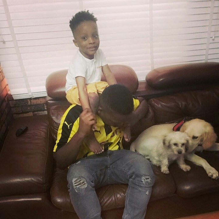 , Olamide's son all grown up and handsome in new photo, Effiezy - Top Nigerian News & Entertainment Website