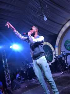 Phyno's manhood stands while performing on stage in Lagos. (See Reactions)