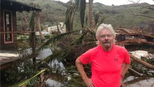 Sir Richard Branson's Necker Island home wrecked by Hurricane Irma
