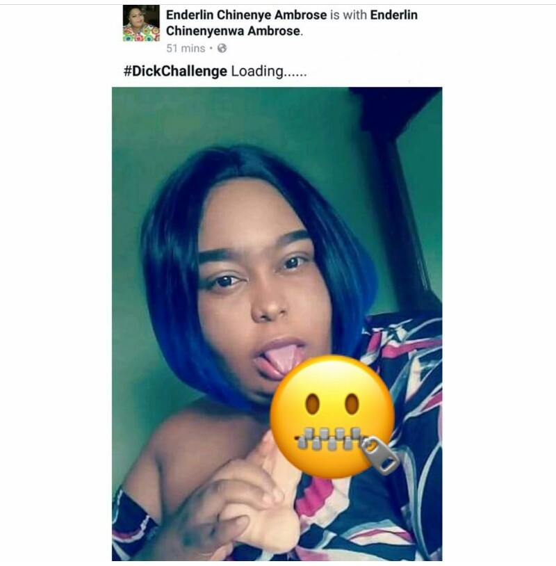 , Nigerian lady poses with her Adult Toy on FB, sparks heated reactions (photos), Effiezy - Top Nigerian News & Entertainment Website