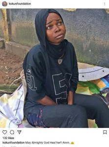 Lady goes crazy after her NYSC (Photo)