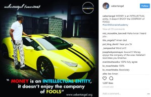 , 'Money doesnt enjoy the company of fools', Zimbabwean pastor flaunts Lamborghini, Effiezy - Top Nigerian News & Entertainment Website