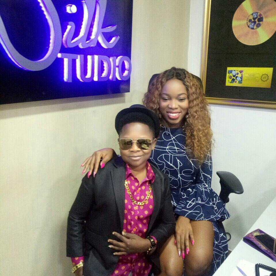 , Chinedu Ikedieze spotted in the studio with Sheyi Shey and Vector [Photos], Effiezy - Top Nigerian News & Entertainment Website