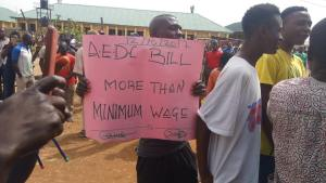 Protest in Abuja over electricity over-billing