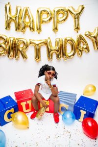 Girl celebrates her 6th Birthday in Gucci style (Photos)