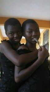 Transformation photos of female twins that have gone viral