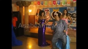 Davido's Uncle is at it again: Senator Adeleke dances with Beauty queens (Photos & Video)