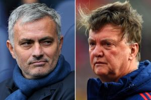 """Manchester United play boring, defensive football under Mourinho"" – Louis Van Gaal"