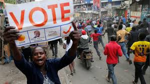 , Boycott, shooting, tear gas mar Kenya presidential election re-run, Effiezy - Top Nigerian News & Entertainment Website