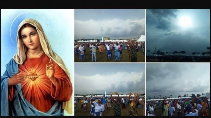 , Holy Ghost!! Virgin Mary appears in Edo State during Catholic Marian year conference (Photos), Effiezy - Top Nigerian News & Entertainment Website