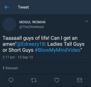 Lady who makes fun of short men marries one (Photo)