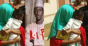 Killer wife, Maryam Sanda burst into tears, then reads Quran as she is arraigned in court for stabbing her husband (Photo & Video)