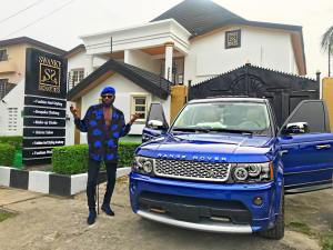 , Swanky Jerry shows off his Range Rover and House, Effiezy - Top Nigerian News & Entertainment Website
