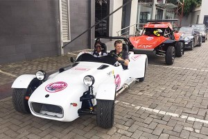 Tiger Race Car Spotted In Lagos (Photos And Video)