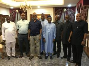 Rotimi Amaechi Hosts Governors, Top Political Figures In His Abuja Residence (Photos)