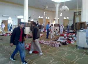 Egypt mosque attackers wore military uniforms and arrived in SUVs