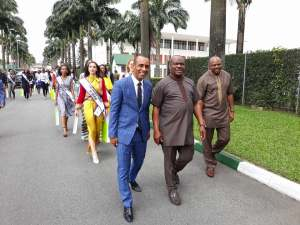 , Contestants Of The Miss University Africa 2017 Led on a Tour By Gov. Wike in Rivers (Photos), Effiezy - Top Nigerian News & Entertainment Website