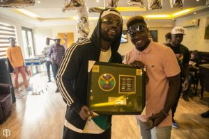 Friends Throw A Surprise Birthday Party For Iyanya – (Photos)