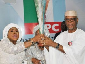 Wife of former PDP national chairman joins APC