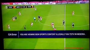 Nigerian Subscribers Of TSTV Shocked As BeIN Sports Accuses Them Of Illegal Viewing Of Europa League (Photo)