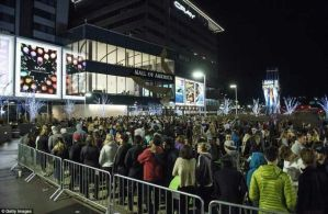 Massive crowd storm shops, malls for Black Friday Shopping (Photos)