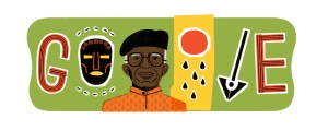 , Chinua Achebe honoured with Google Doodle on posthumous birthday (Photo), Effiezy - Top Nigerian News & Entertainment Website