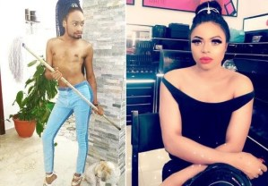 """I'm The Boss Now, Sit Down And Learn From Me"" – Bobrisky Replies Denrele Edun"