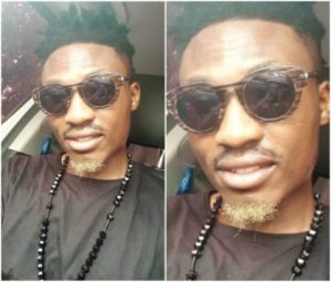 Fans blasts Efe of Big Brother Naija, after he showed off his new beard (Screenshots)