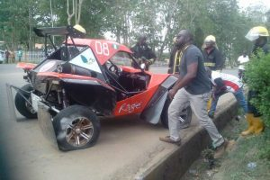 Multiple Accident Ends Ondo 2017 Car Race Competition (Photos)