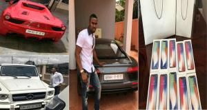 Young Ghanaian Millionaire, Ibrah Money Dashes 10 Iphone X To Passengers In A Bus To Celebrate His Birthday (Video)