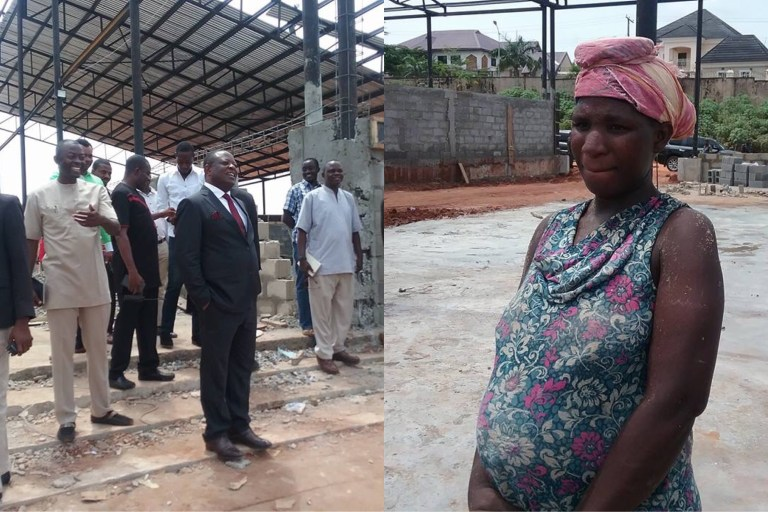, 'Please Go Home' –Ebonyi State Gov. Umahi Tells Pregnant Woman Mixing Concrete After Giving Her 200K, Effiezy - Top Nigerian News & Entertainment Website
