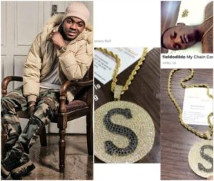 Singer Skiibii Steals Man's 'gold Chain Photo' And Poses With It On Snapchat