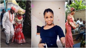 19-yr-old Nigerian Lady Prays For Single Ladies To Have Husbands Like Hers As She Shares Her Traditional Wedding Photos