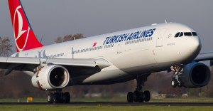 'Bomb on board' wi-fi network causes Turkish Airlines flight to be diverted