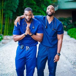 Check out cute Nigerian twin brothers who are both nurses in the US (Photo)