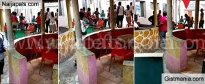 Girl strips naked for Drunk Guys in a bar for N2000 (Video)
