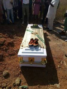 Photos Of NYSC Female Corp Member, Adeola Who Died In NDA Camp Buried Amidst Tears (Photos)