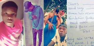 Nigerian lady demands N125k from her boyfriend for Christmas Shopping (Photos)
