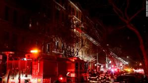 Fire in New York kills 12 people and a child (Photos)