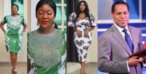 """You are an Example of God's Word and You Teach Us His Word"" — Mercy Johnson celebrates Pastor Chris Oyakhilome on his birthday"