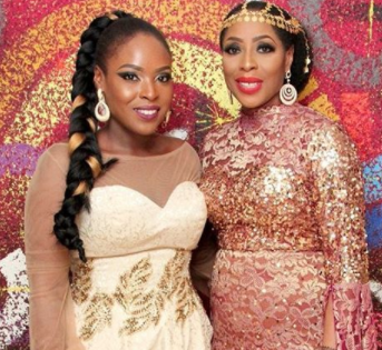 The Wedding Party   Mo Abudu And Her Daughter At The Wedding Party 2 Premiere