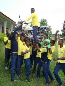 See the way Secondary school students celebrated graduation (Photo)